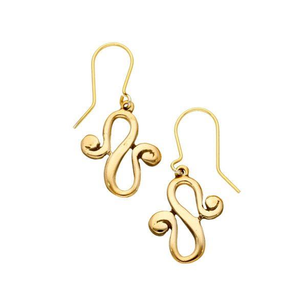 Bronze Waldalgesheim earrings