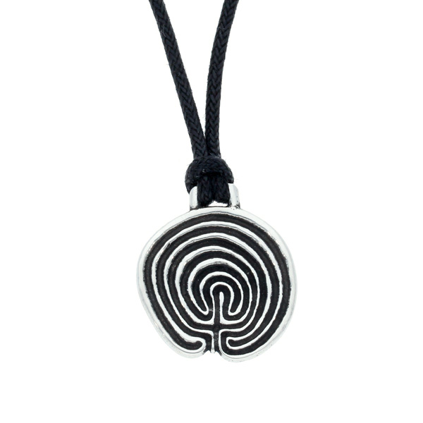 Tintagel Labyrinth pendant