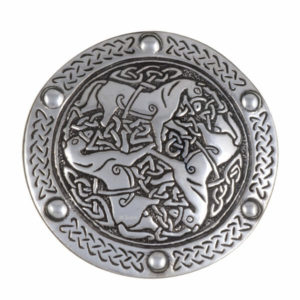 40mm Inverurie horses buckle