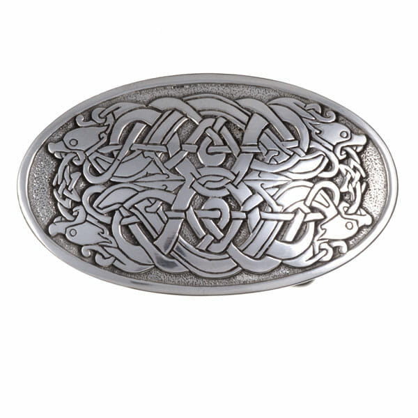 Serpent buckle large