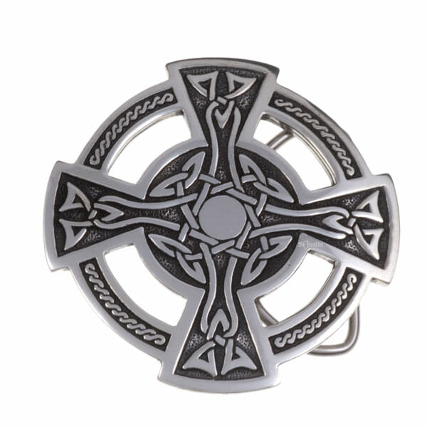 Celtic cross buckle 40mm