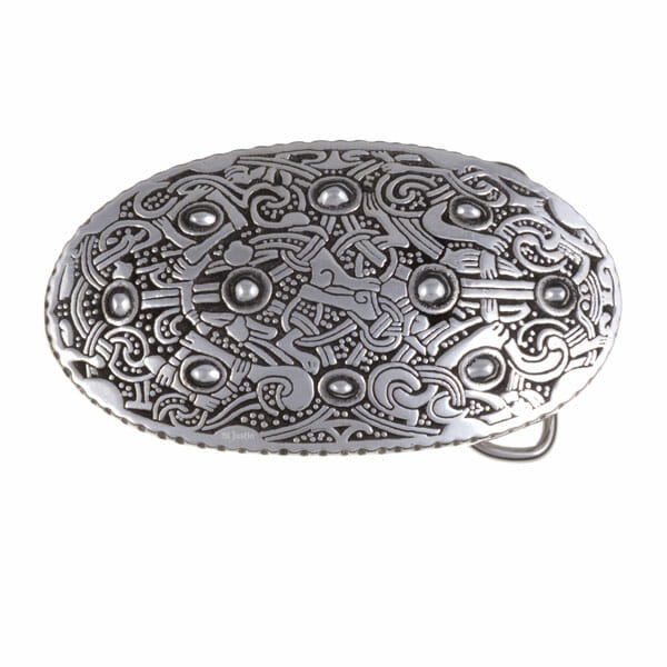 Viking oval buckle