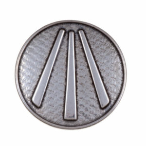 Cornish Awen Brooch 1