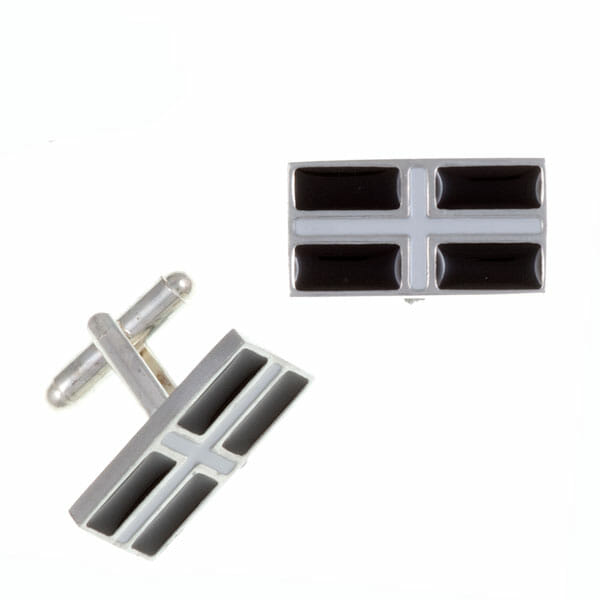 St Piran T-bar cufflinks