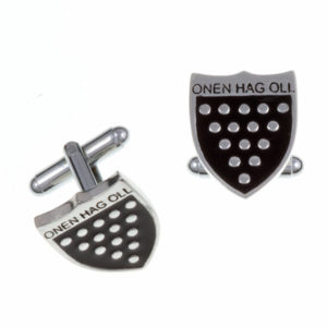One & all T-bar cufflinks