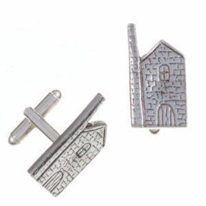 Engine house T-bar cufflinks 1