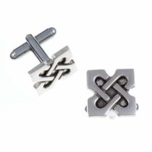 10th Anniversary X T-bar cufflinks