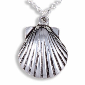 St Michael's Way shell pendant