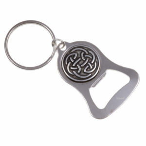 Lugh's knot bottle-opener key-ring