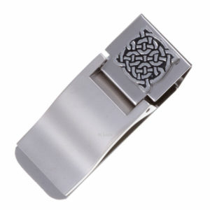 Four knot money clip