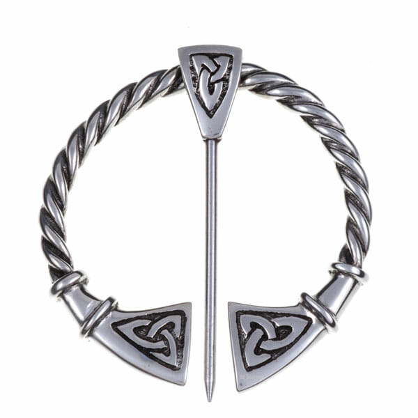 Large Celtic penannular brooch