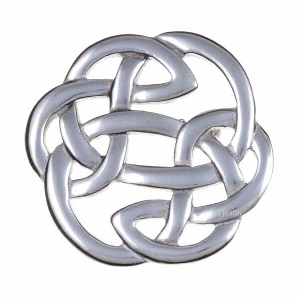 Lugh's knot brooch (small)
