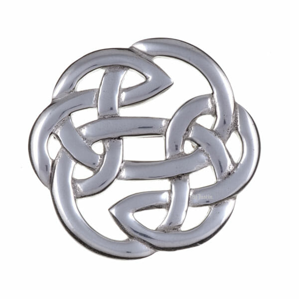 Lugh's knot brooch (medium)