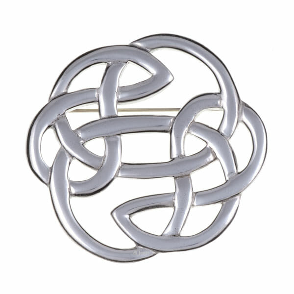 Lugh's knot brooch (large)