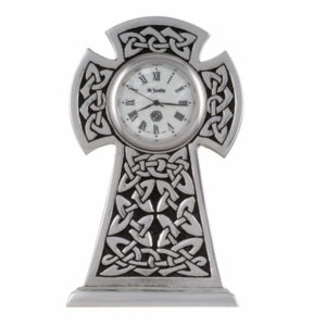 Knox knot cross clock