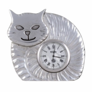 Fat cat clock