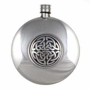 Interlacing Aberlemno knot sporran flask (6oz) 1