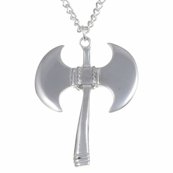 of pendant amulet perun listing il axe silver sterling