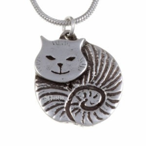 Fat cat pendant (small)