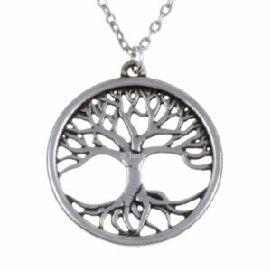 Tree of life pendant – pewter