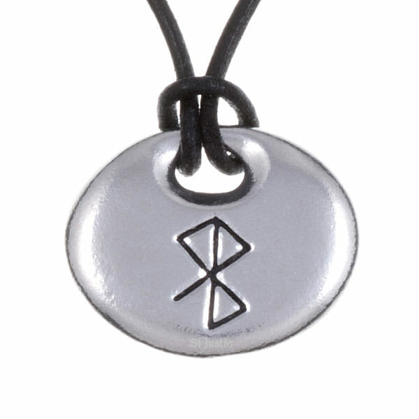 Peace & happiness bind rune pendant