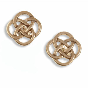 Four Loop Knot Stud Earrings 1