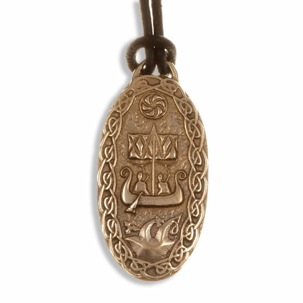 Traveller's charm (Lillbjärs picture stone) pendant