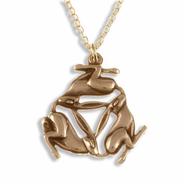 Three hares pendant