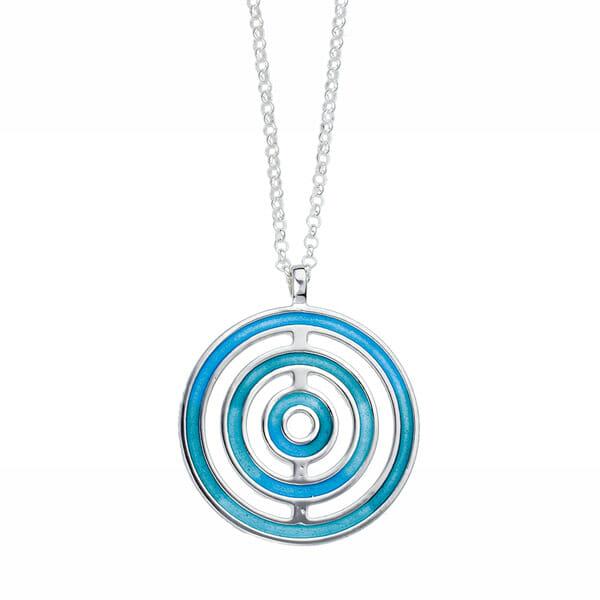 Silver Glas Mor Keynvor pendant