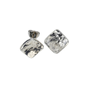 Square samba stud earrings