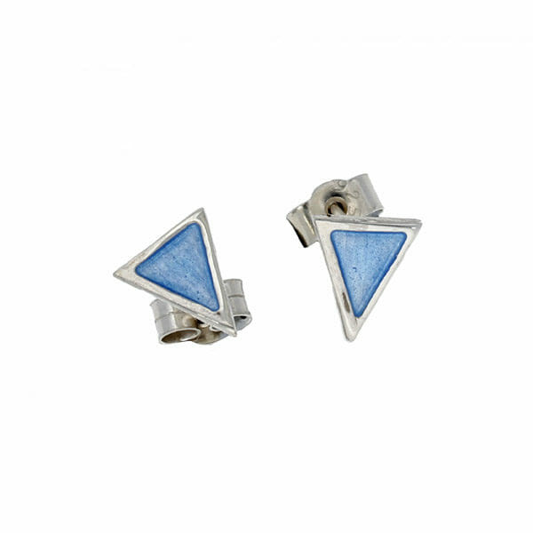 Sterling silver Flotilla stud earrings