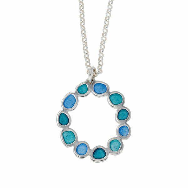 Sterling silver Morgan pendant