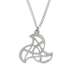 Pewter Triskelion pendant