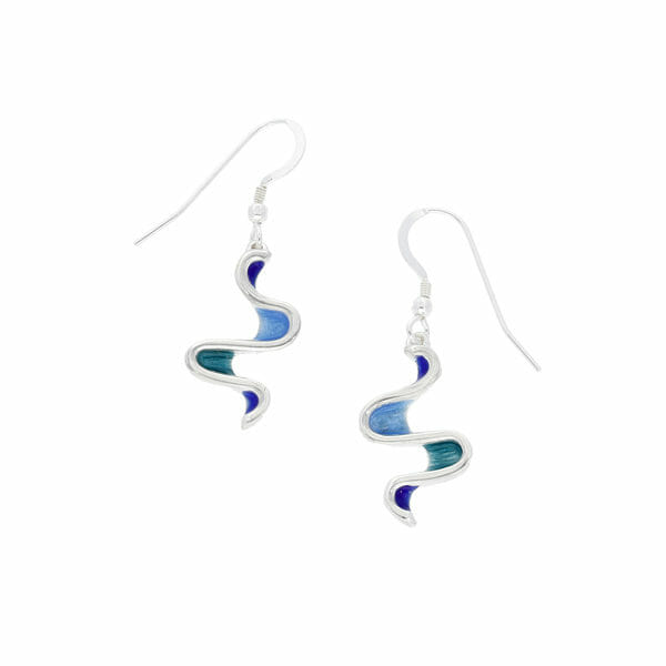 Glas Mor Morrep drop earrings
