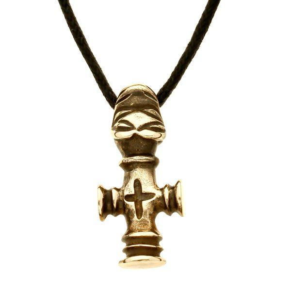 Bronze thors hammer pendant