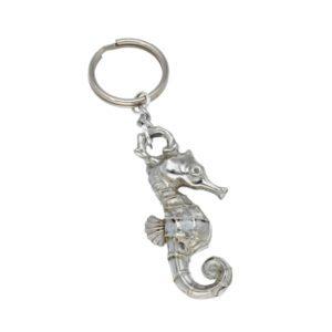 Seahorse handbag charm