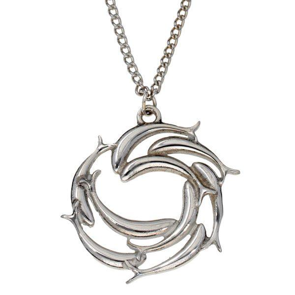 Fish Swirl pendant