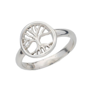 Tree of Life pierced ring
