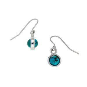 Double sided gemstone earrings