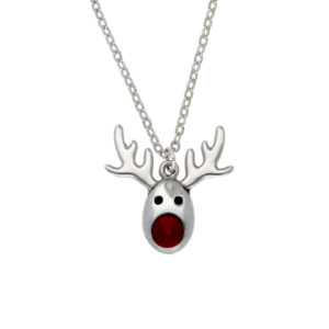 Rudolph crystal pendant
