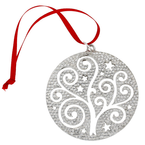 Celtic bauble tree decoration