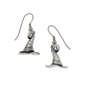 Witch's hats earrings