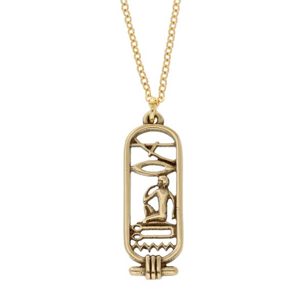 Bronze Egyptian Love Catrouche pendant