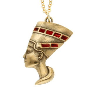 Egyptian Nefertiti pendant