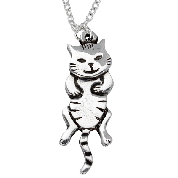 Dangle cat pendant