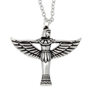 Pewter Egyptian goddess bast pendant