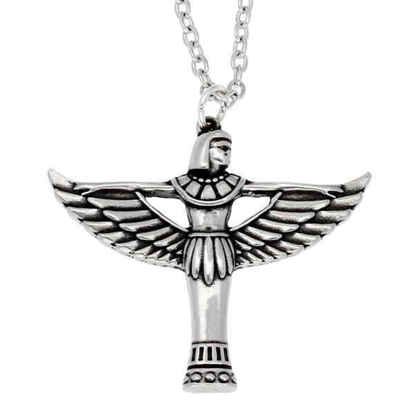 Pewter Egyptian goddess bast pendant