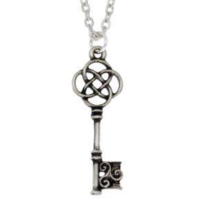 Celtic key pendant
