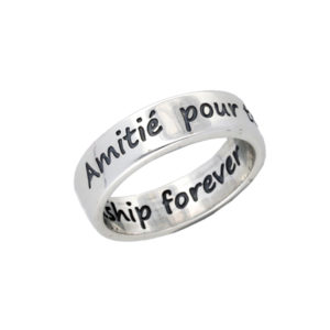 French friendship forever ring