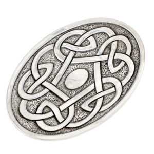 Celtic knot soap dish